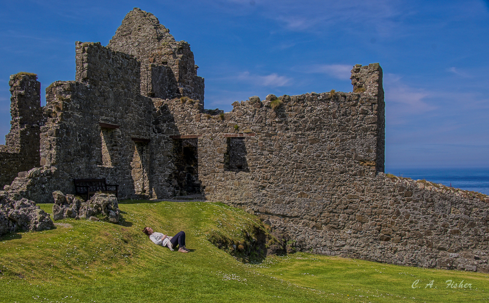 Dunluce Castle Walls
