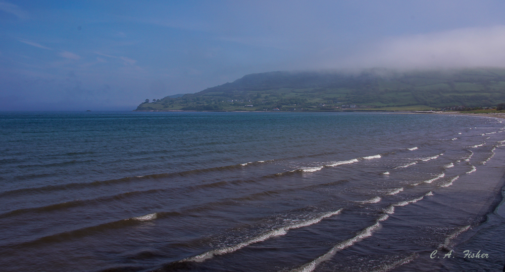 Waves in Glenarm Bay