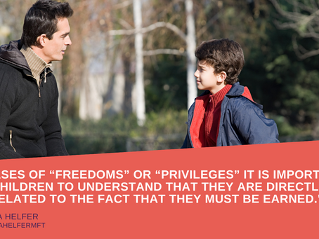 "I'm Giving My Son More ""Teen Freedoms"""