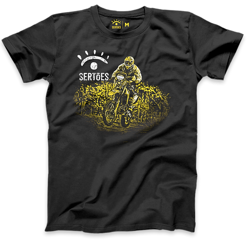 Camiseta Sertões - Campeões Motos