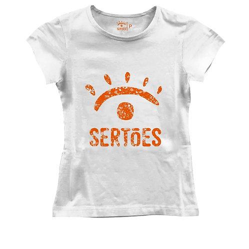 Camiseta Sertões Feminina -Branca