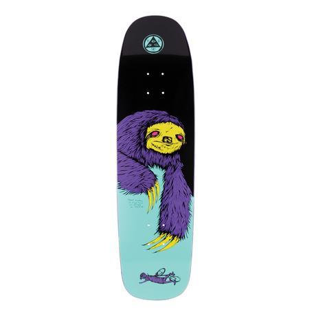 "Welcome SKateboards Sloth on Son of Golem 8.75"" (Black/Teal)"