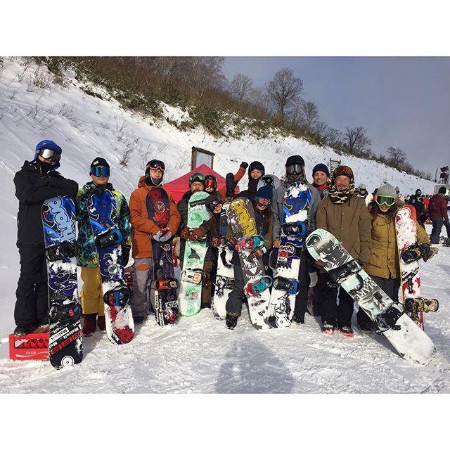 SNOWBOARD TOUR TAKASU SNOWPARK