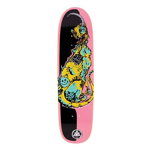 """Welcome Skateboards Cheetah on Sylphstick 8.5"""" (Pink/Black))"""