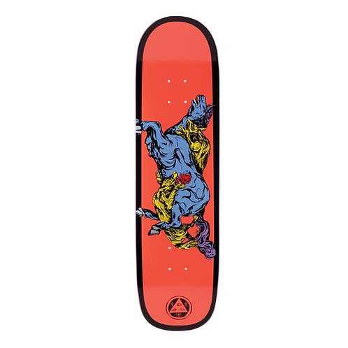 "Welcome Skateboards Goodbye Horses on Big Bunyip 8.5"" (Coral/Black)"