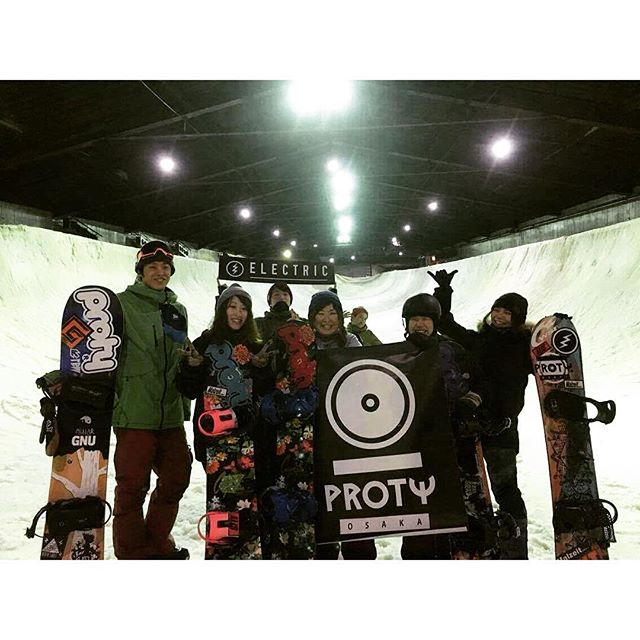 SNOWBOARD TOUR MISAKA HALFPIPE
