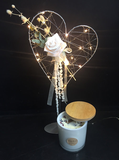 You Light Up my Heart + Luxe Candle Combo