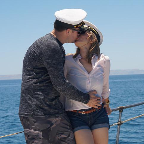 Amor a bordo