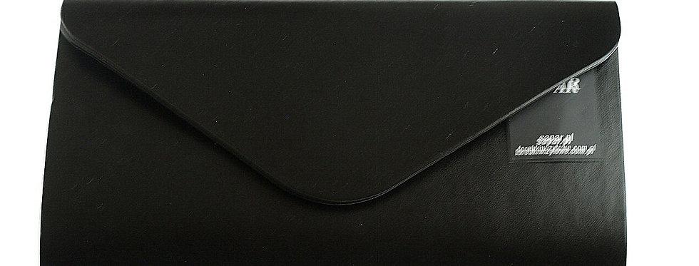Kopertówka wizytowa SAPAR czarna matowa