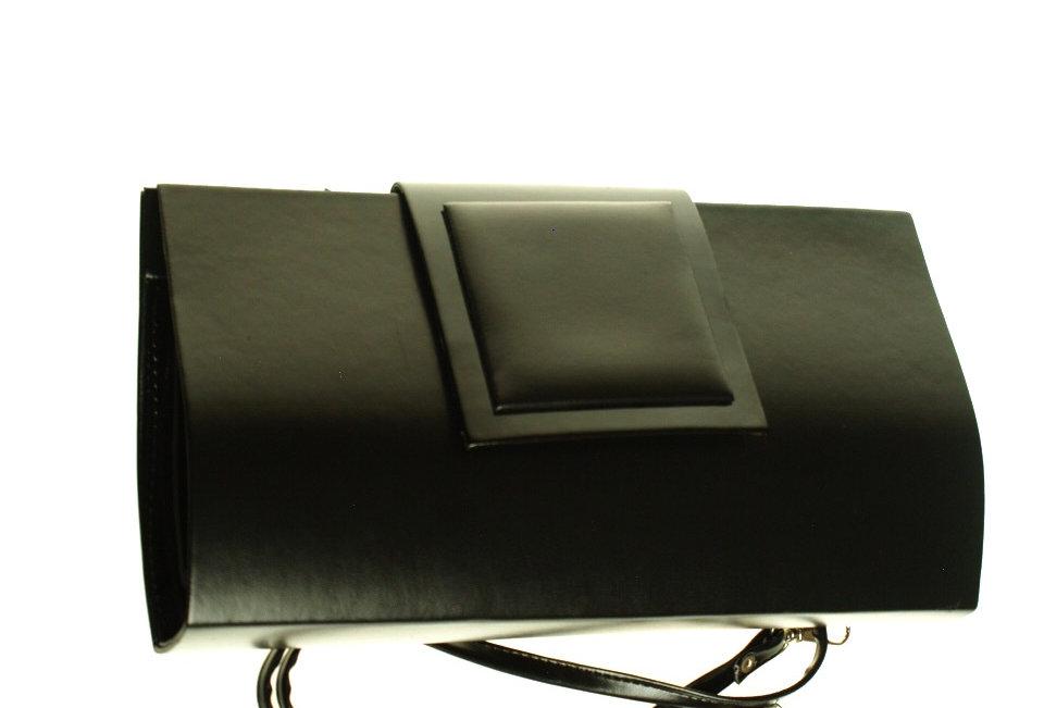 Kopertówka matowa czarna