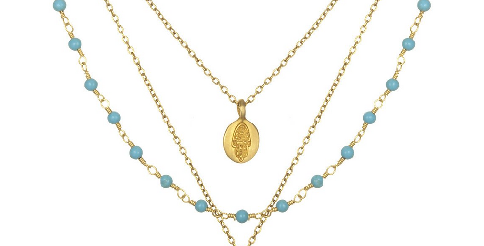 Turquoise Thrive Necklace