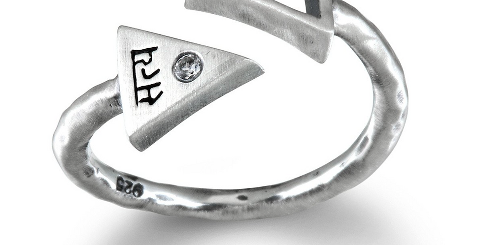 Preeminent Path Silver Ring