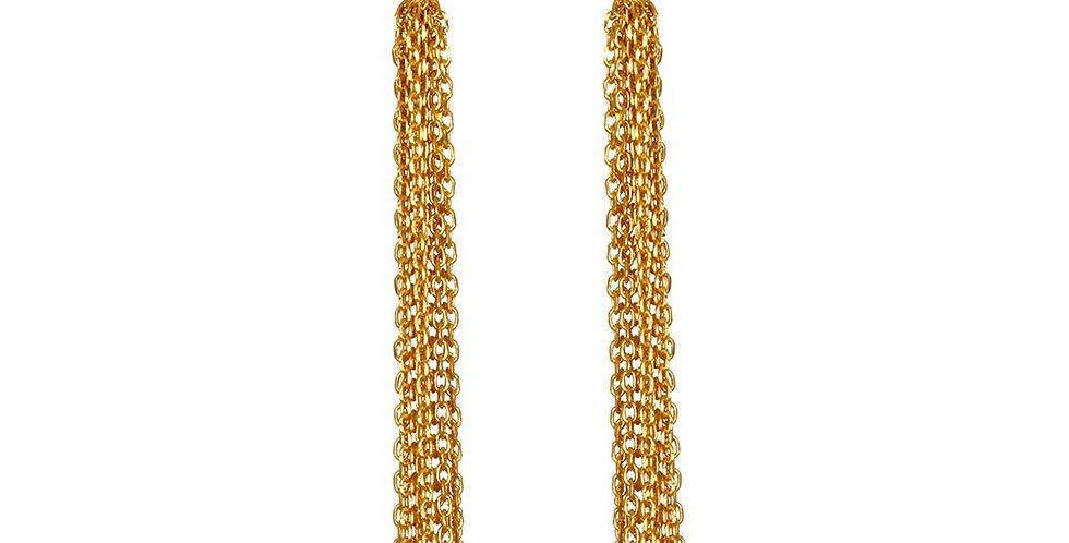 Expanding Horizons Gold Earrings