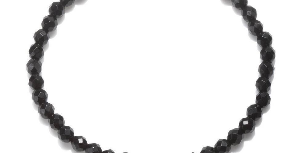Mini Om Onyx Bracelet