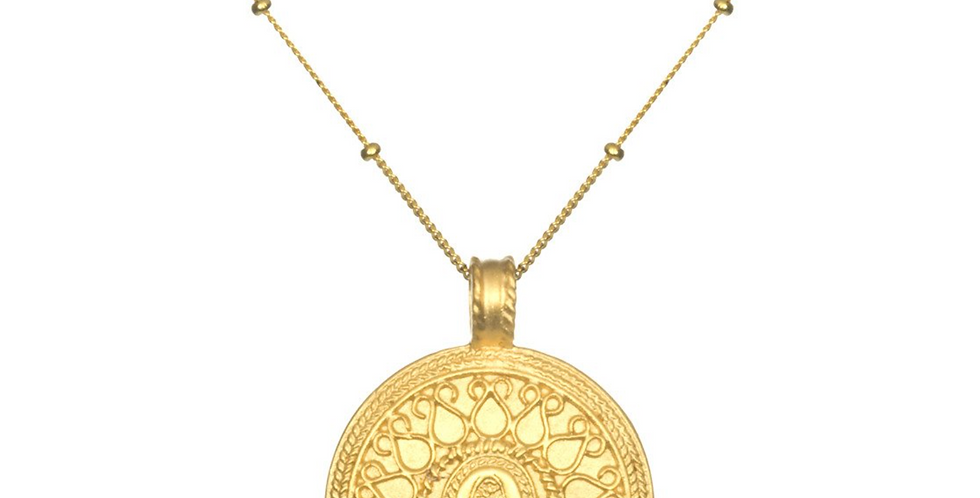 Gold Hamsa Necklace - In the Now