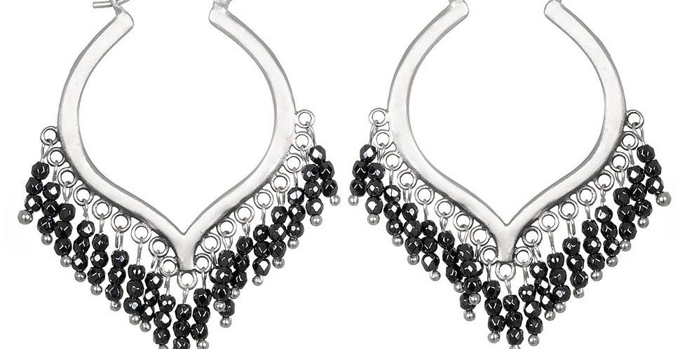 Dream Weaver Hematite Earrings