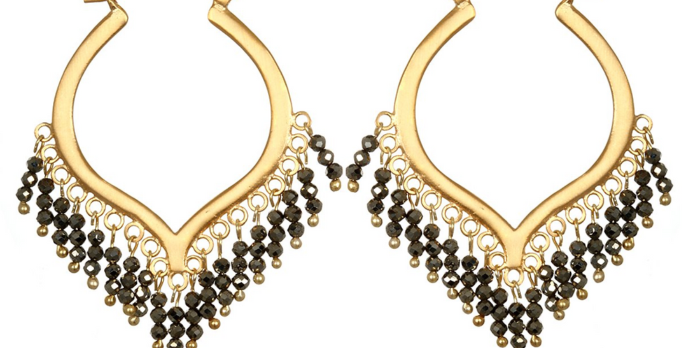 Dream Weaver Pyrite Earrings