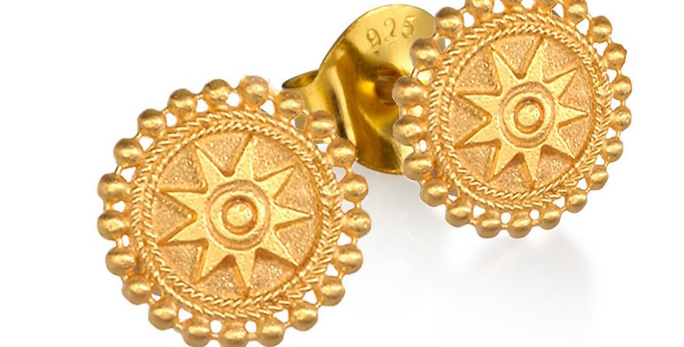 Limitless Stud Earrings Gold