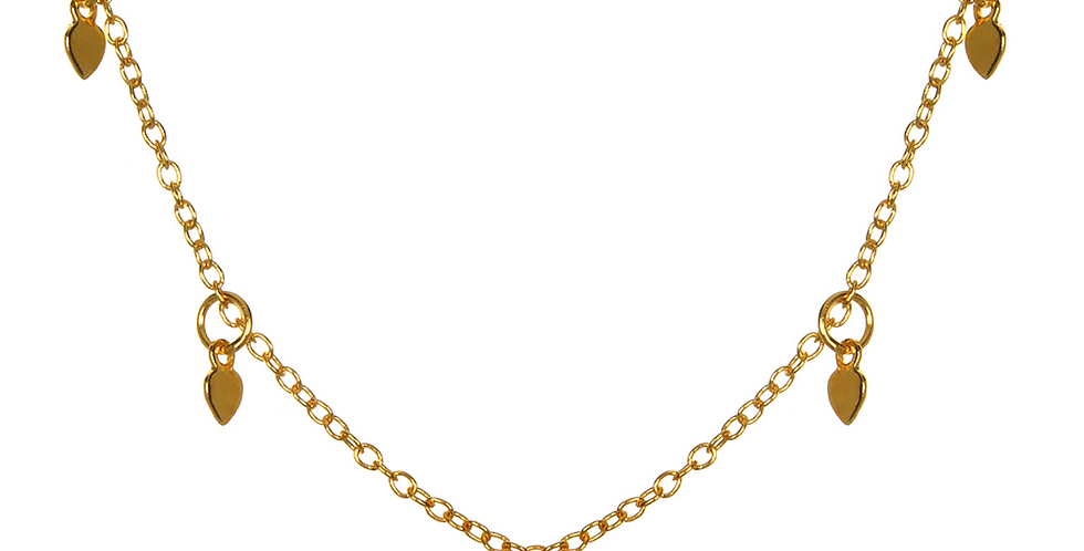 Arise Anew Gold Choker Necklace