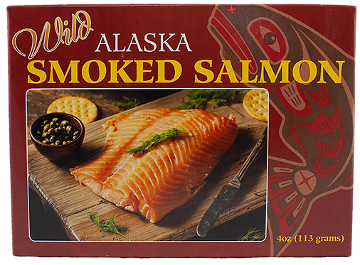 4 oz. Smoked Pacific Salmon