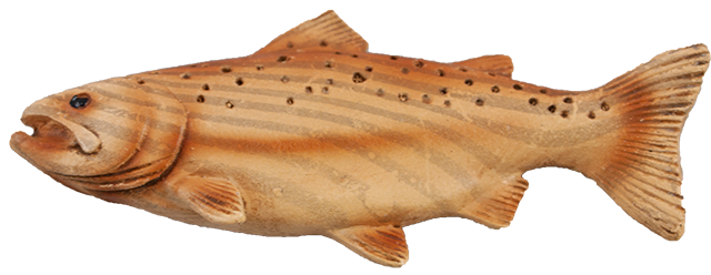 3 inch Resin Fish Fridge Magnet