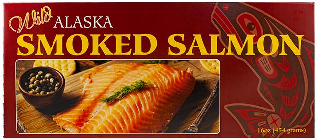 16 oz. Smoked Pacific Salmon