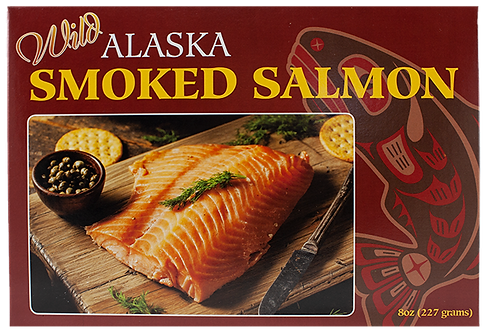 8 oz. Smoked Pacific Salmon