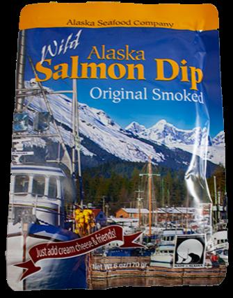 6 oz. Wild Alaska Salmon Dip Smoked