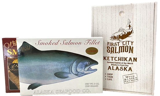 Pick two smoked salmon box set