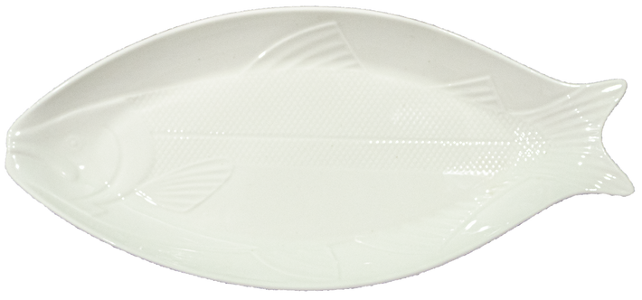 Ceramic Fish Dinner Plate
