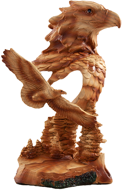 7 inch Resin Eagle Statue