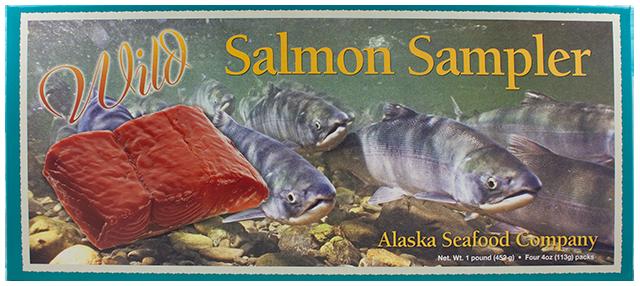 16 oz.  Ultimate Wild Salmon Sampler