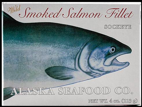 4 oz. Smoked Sockeye Salmon