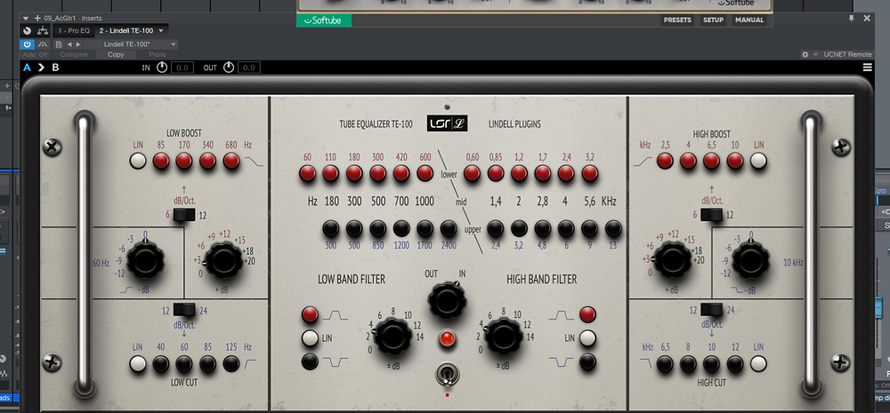 Lindell TE-100 K&H UE-100 Plugin Alliance