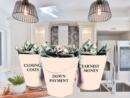 3 Buckets to Fill When Buying A Home