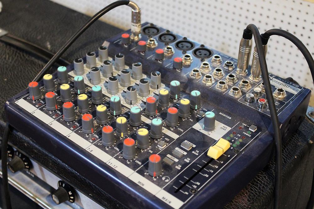 mesa soundcraft 124