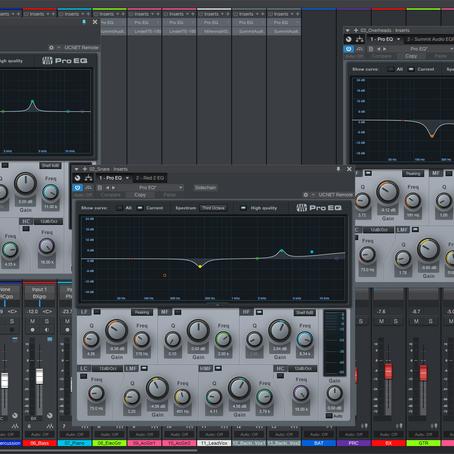 Como soa a Mixagem antes e depois de uma Equalização