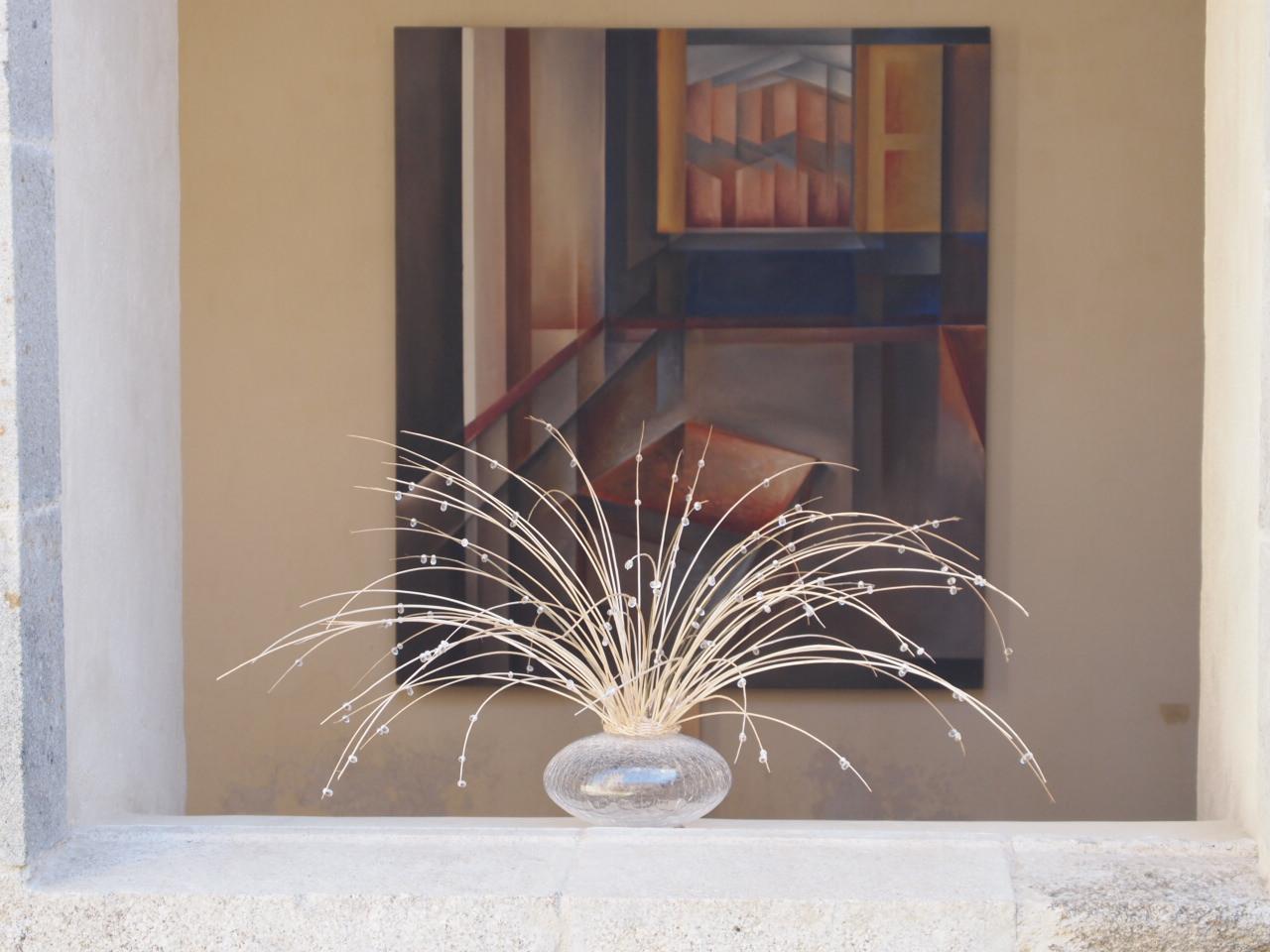 """""""A l'aube"""" + tableau Theodora Vourvouri"""