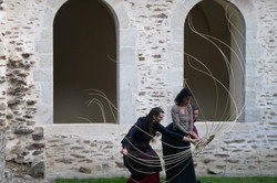 Performance Alexandra Ferdinande, Elsa Micoud, Theodora Vourvouri