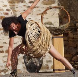 Elsa Micoud danse panier