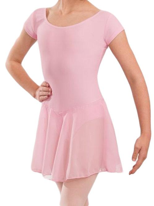 Leotard Dress Pink - New style