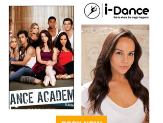 Dena Kaplan-star of Dance Academy is coming to iDance