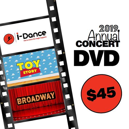 iDance Annual Concert DVD's
