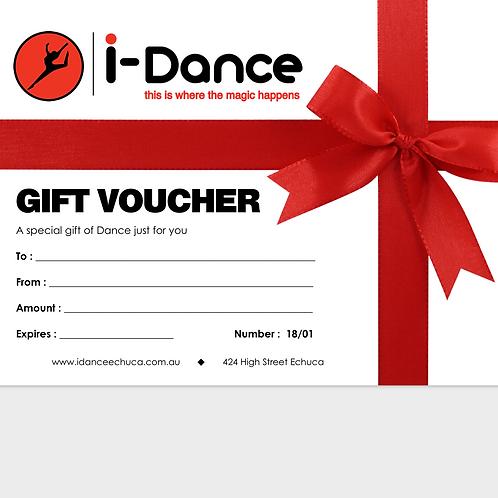 iDance $100 Gift Voucher