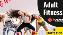 Adult 6 week Latin Fitness Classes-start tomorrow (Monday Feb 22nd)