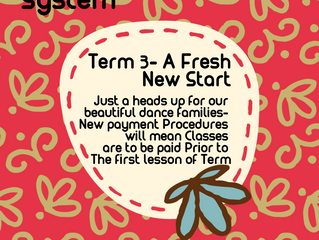 New Payment System-commencing Term 3