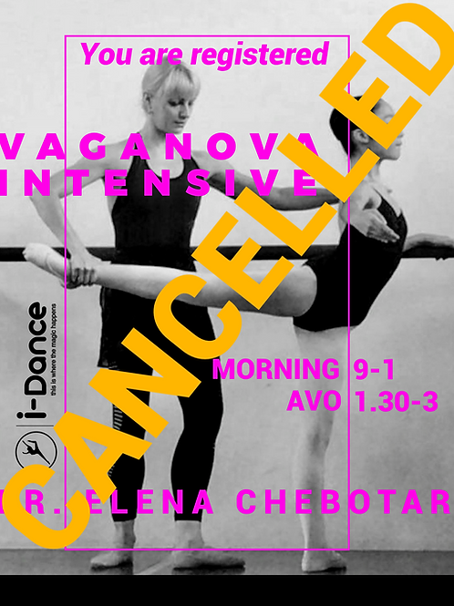 Renowned Russian Ballet Matriarch-2 days only
