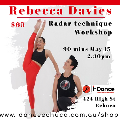 RADAR TECHNIQUE WORKSHOP (Saturday, May 15th)