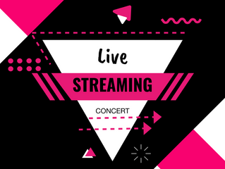 Live Streaming for our Concert too!