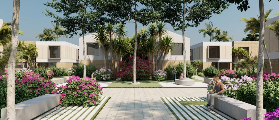 Vista Exterior4 - Villa 2 Niveles